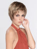 A beautiful short bob style with long layers designed to allow the hair to move around freely