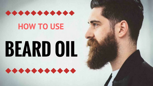 The Bearded Goon's How to use beard oil