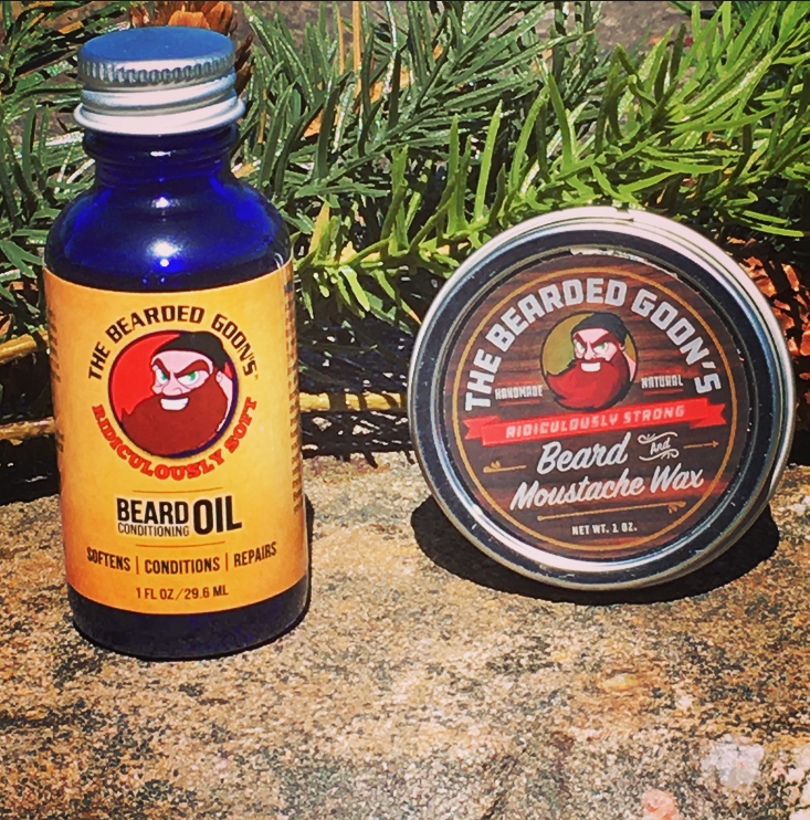 Beard Starter Kit: Beard wax and Beard Oil - The Bearded Goon's Beard & Moustache Company