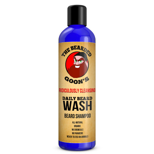 The Bearded Goon's Ridiculously Cleansing Daily Beard Wash - The Bearded Goon's Beard & Moustache Company