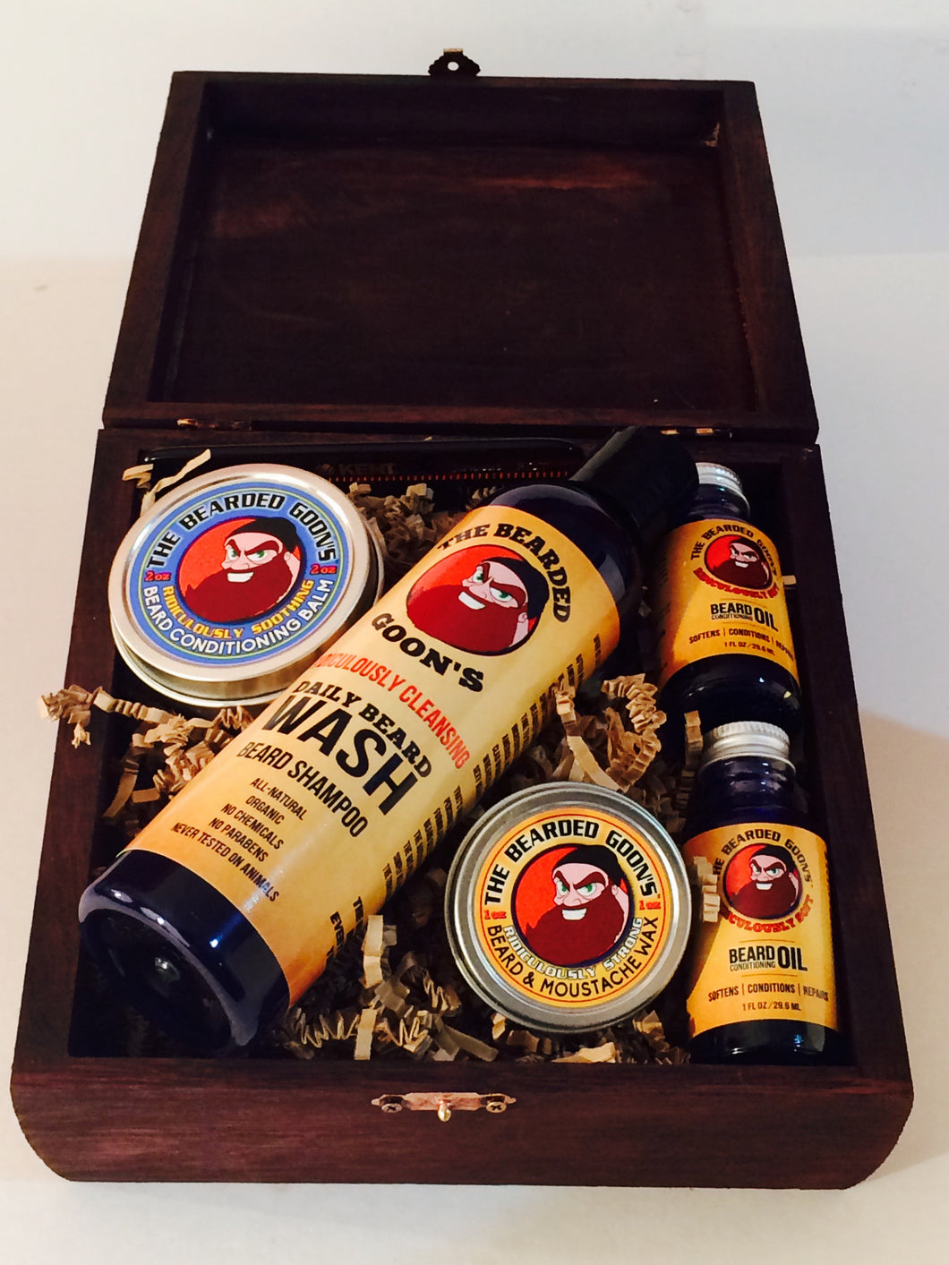 The Bearded Goon's Deluxe Beard Bomb Pro Kit - The Bearded Goon's Beard & Moustache Company
