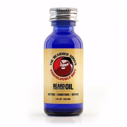 The Bearded Goon's Ridiculously Soft Beard Conditioning Oil - The Bearded Goon's Beard & Moustache Company