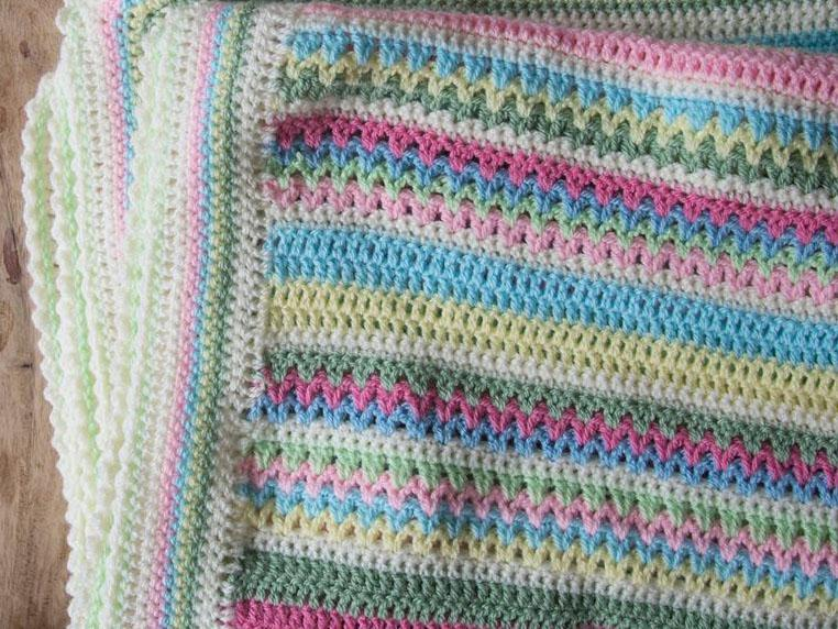 Sweetpea Blanket CAL is at an end