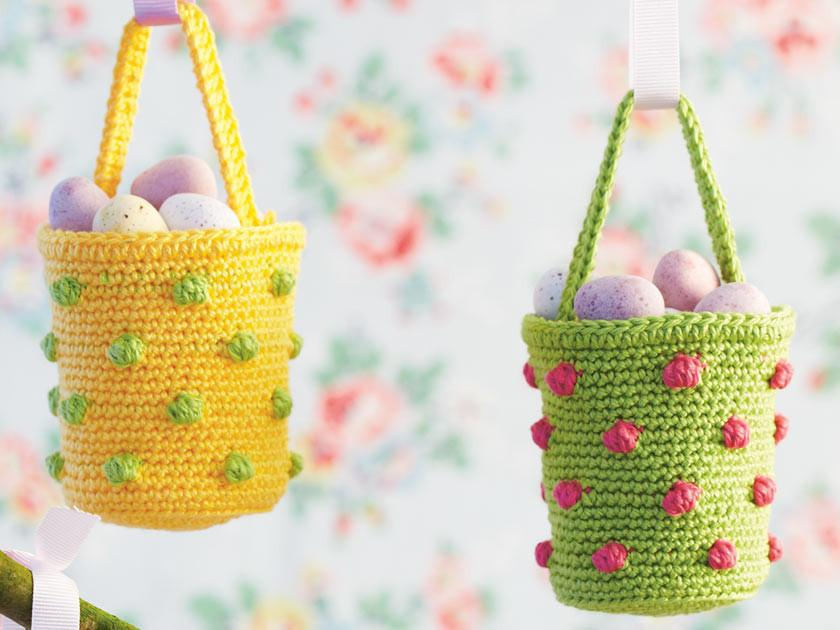 Step by step crochet: Bobbles illustrations