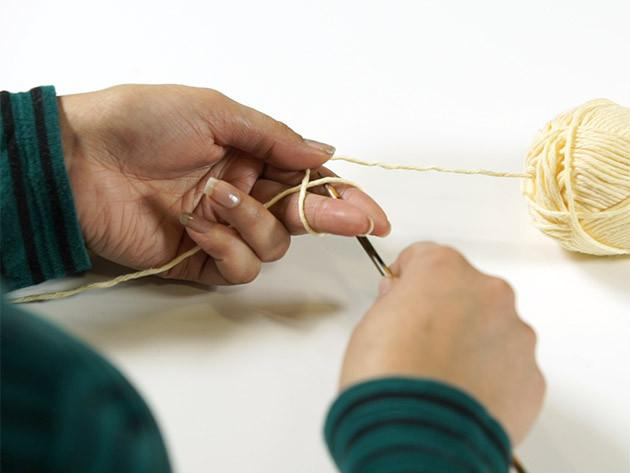 How to knit: Start knitting