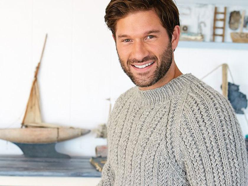 How to knit: The perfect men's knitted jumper