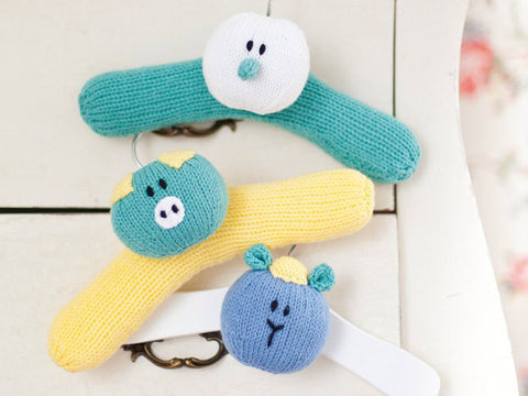 Animal coat hangers for children