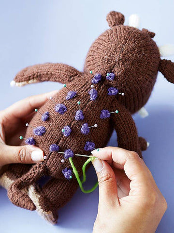 Tips for finishing your Gruffalo knitted toy   The Knitting Network
