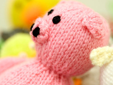 How To Knit Toys Sewing Up Knitted Toys The Knitting Network