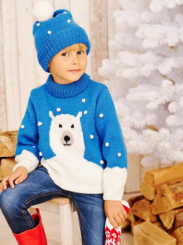 Christmas Jumpers To Knit The Family The Knitting Network