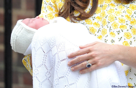 Princess Charlotte Knitted Bonnet