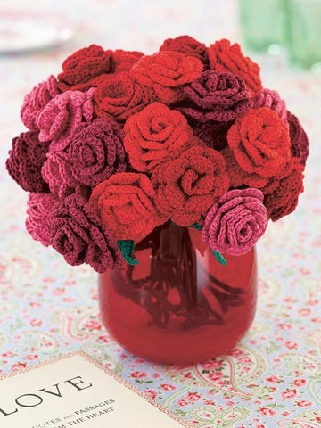 Rose bouquet crochet pattern
