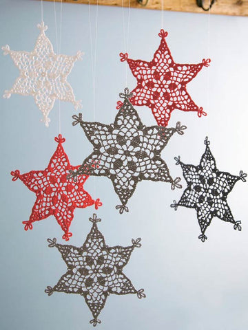 Make Christmas decorations with our knitting and crochet patterns ...