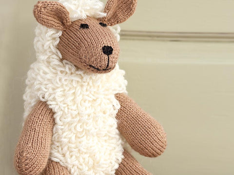 Knitted Sheep Toy