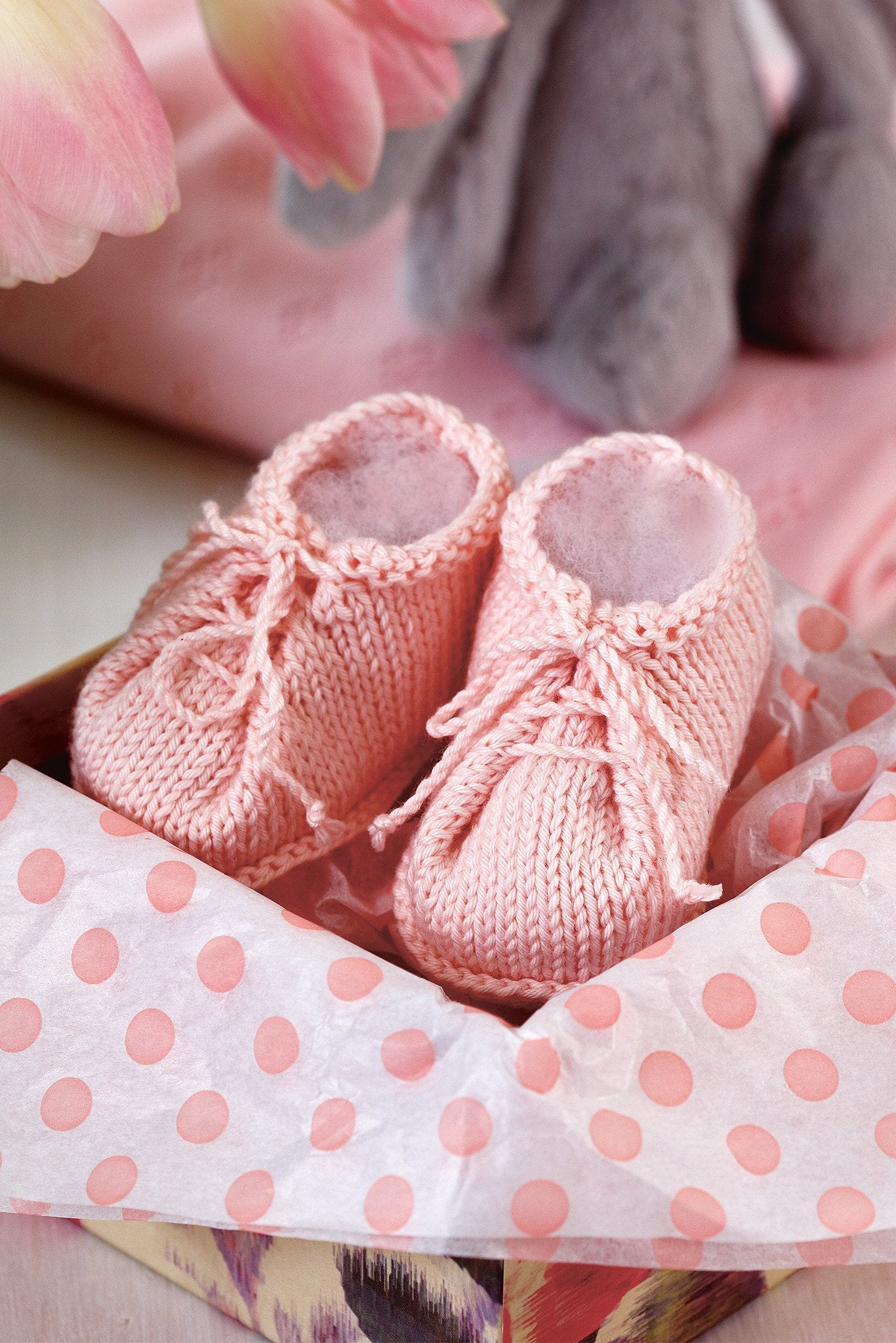 Baby Booties Knitting Pattern – The Knitting Network