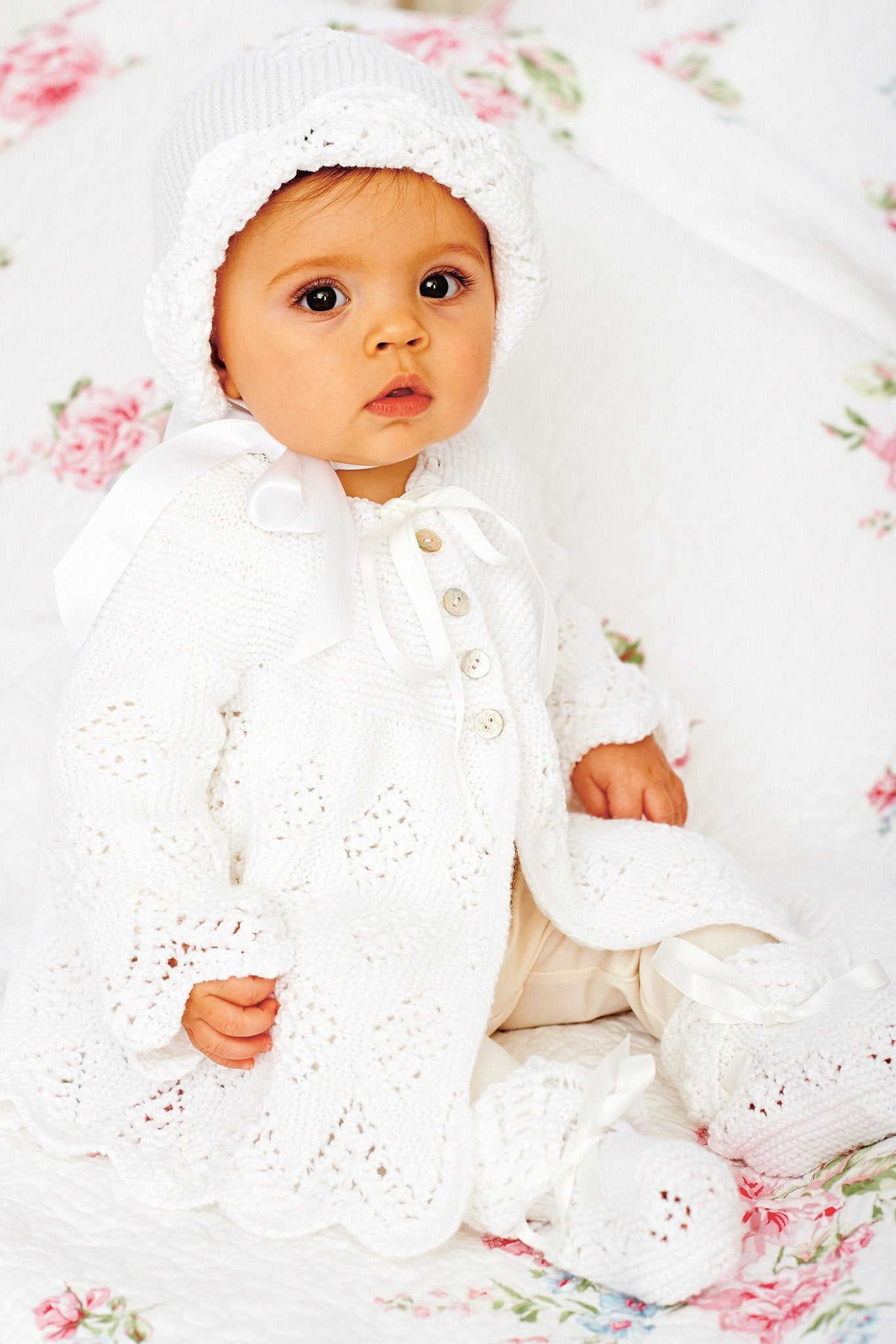 Baby Clothes Set Knitting Pattern – The Knitting Network