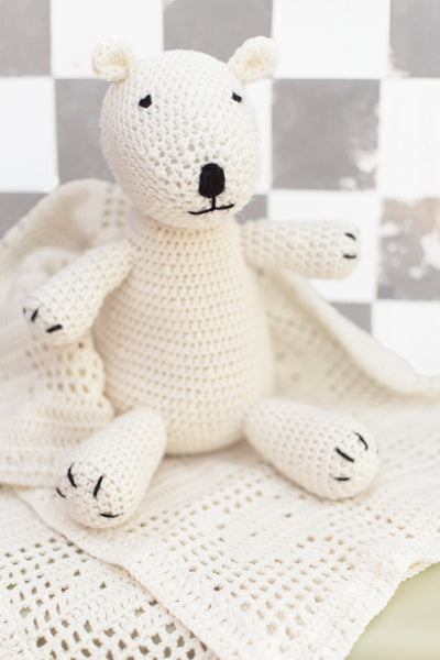 Baby Teddy Bear And Blanket Set Crochet Patterns   The ...