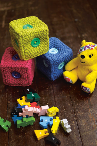 Building Brick Toys Knitting Pattern - The Knitting Network
