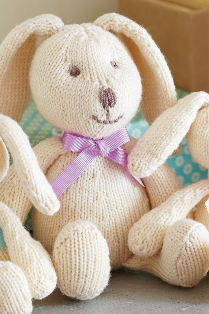 Bunny Rabbit Family Knitting Patterns - The Knitting Network