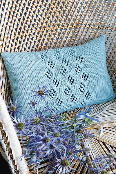 Knitting Networkcouk Freebie : Cable cushion cover knitting pattern the network