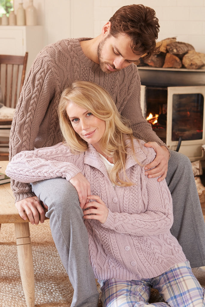 Cable Jumpers For Men And Women Knitting Patterns - The Knitting Network