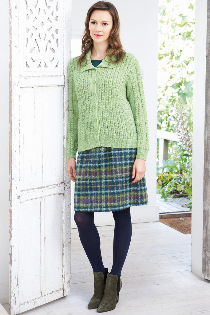 Cardigan Vintage Knitting Pattern - The Knitting Network