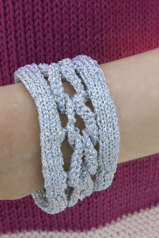 Knitted Chainmail Pattern : Charm Bracelet Knitting Pattern   The Knitting Network