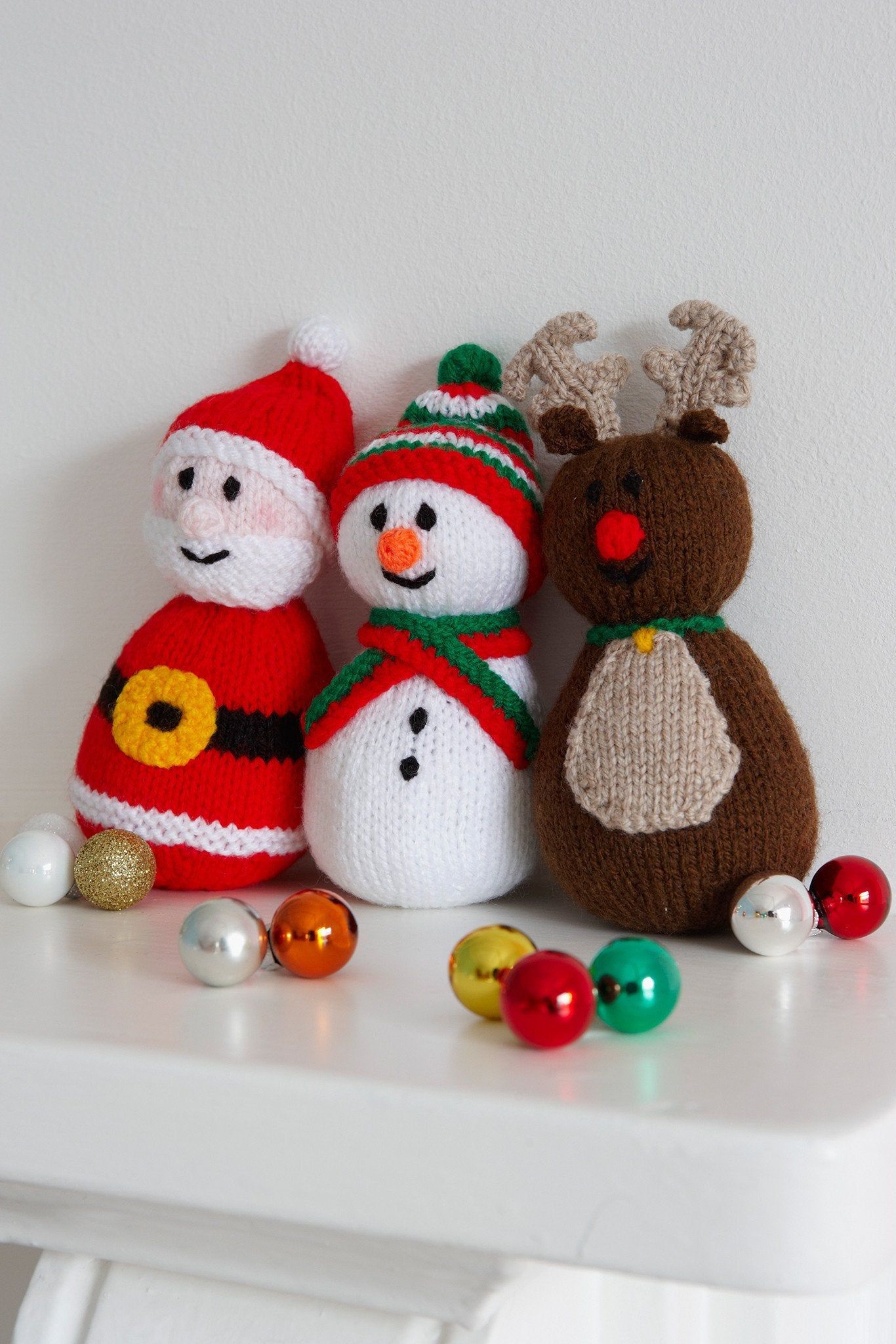 Christmas Toys Knitting Patterns