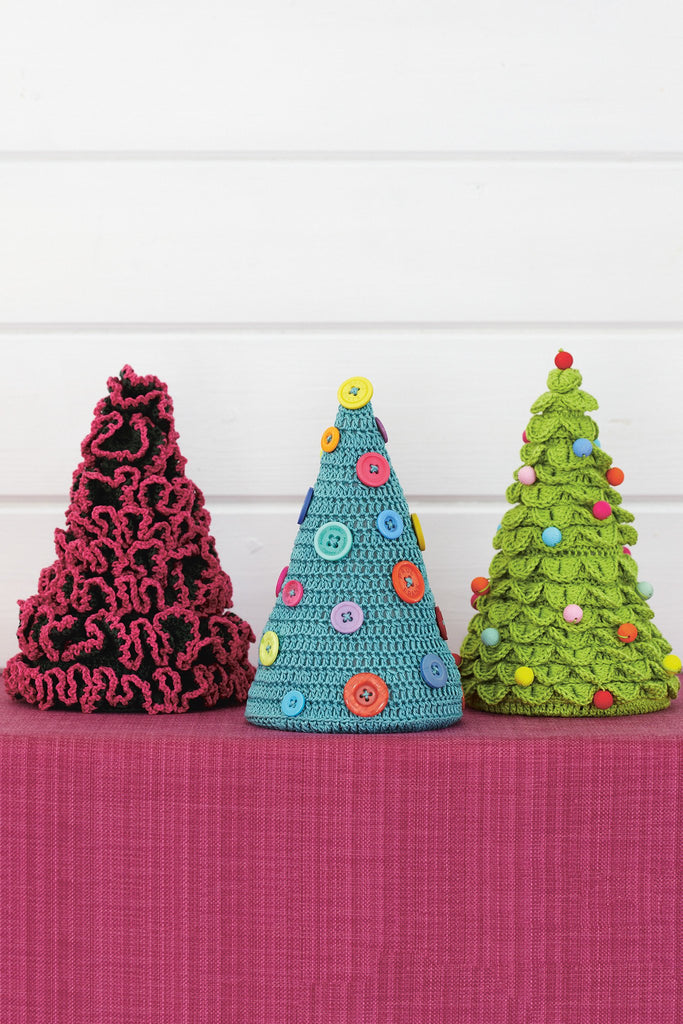 Christmas Tree Set Crochet Patterns - The Knitting Network
