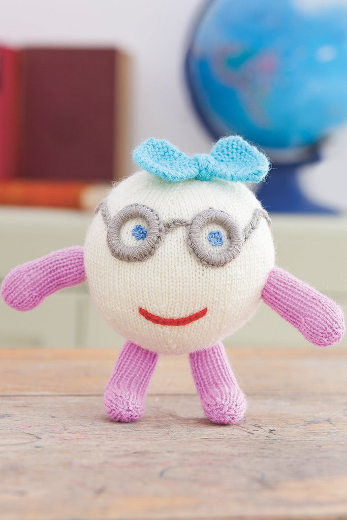 Cuddly Toys Girl And Boy Knitting Pattern - The Knitting Network
