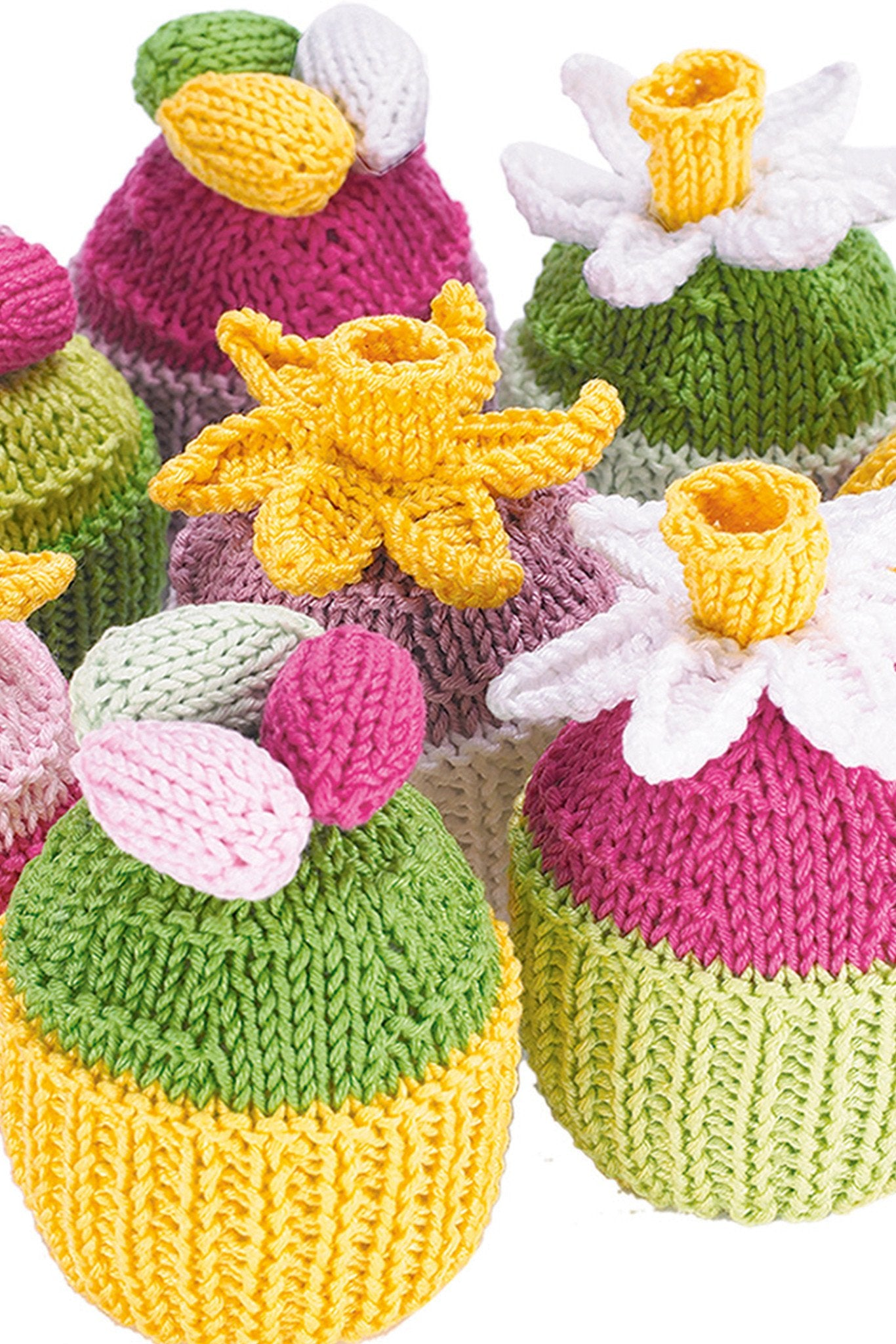 Cupcakes Knitting Pattern – The Knitting Network