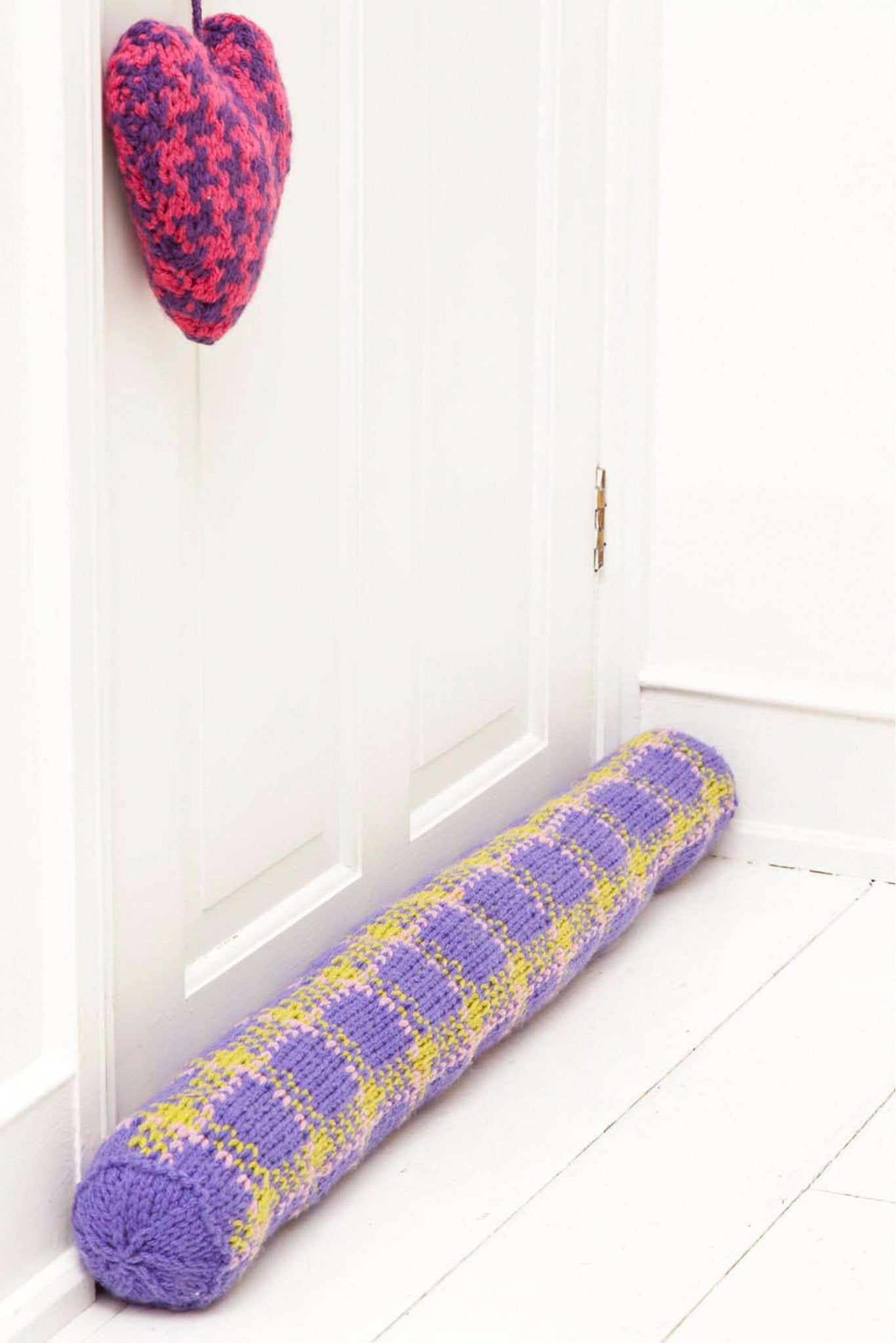 Door Stop Draught Excluder And Sachet Knitting Patterns The