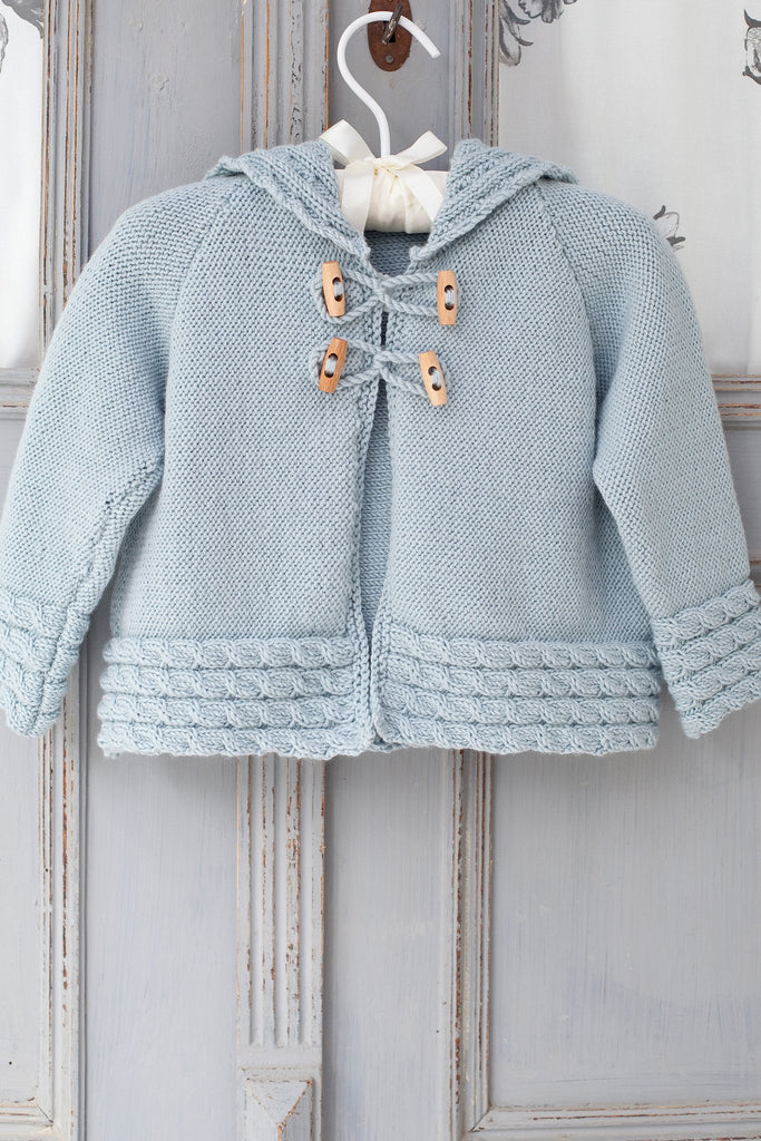 Knitting Pattern For Toddler Duffle Coat : Baby Duffle Coat With Toggles Knitting Pattern   The ...