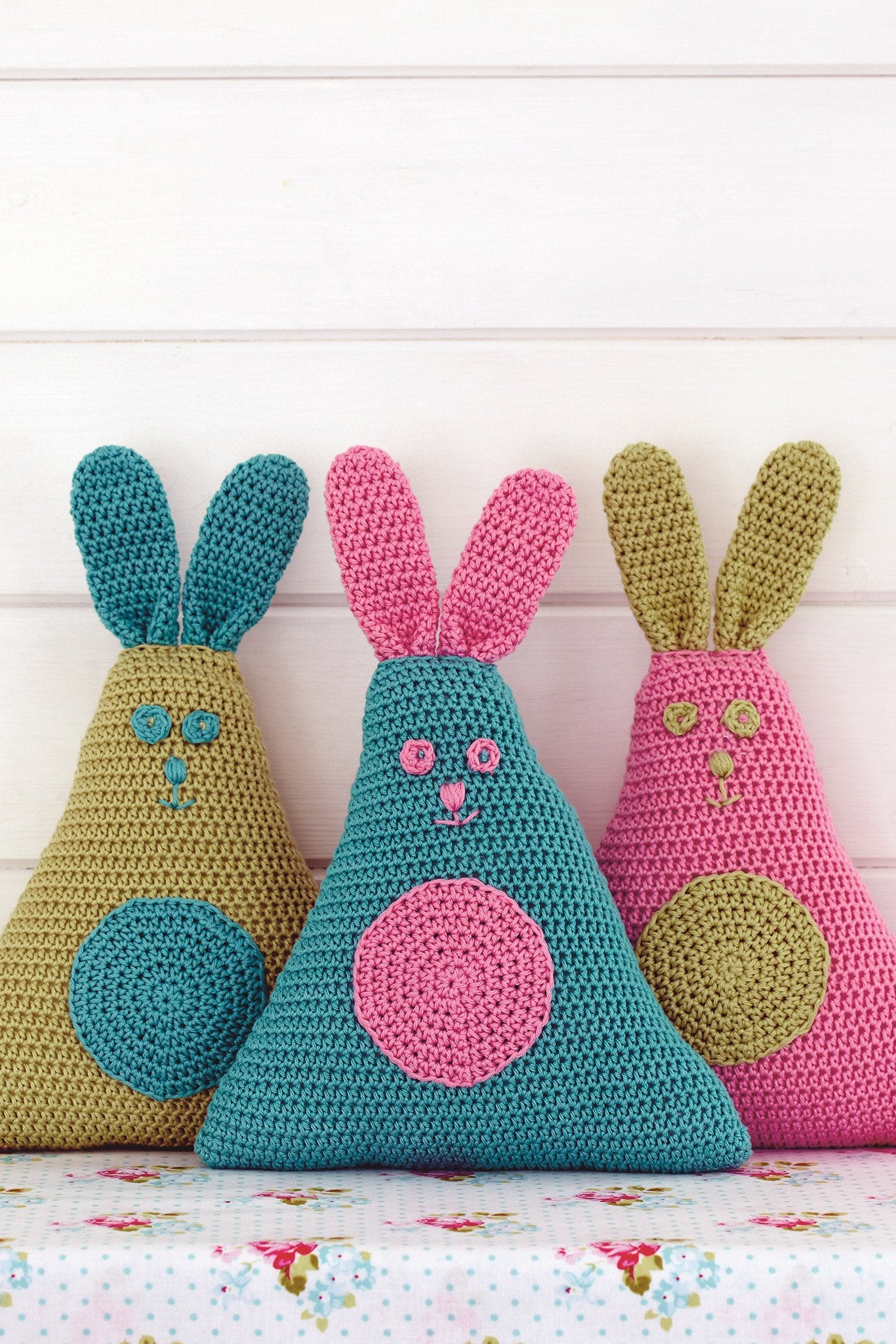 Easter bunnies crochet pattern the knitting network easter bunnies crochet pattern ccuart Choice Image