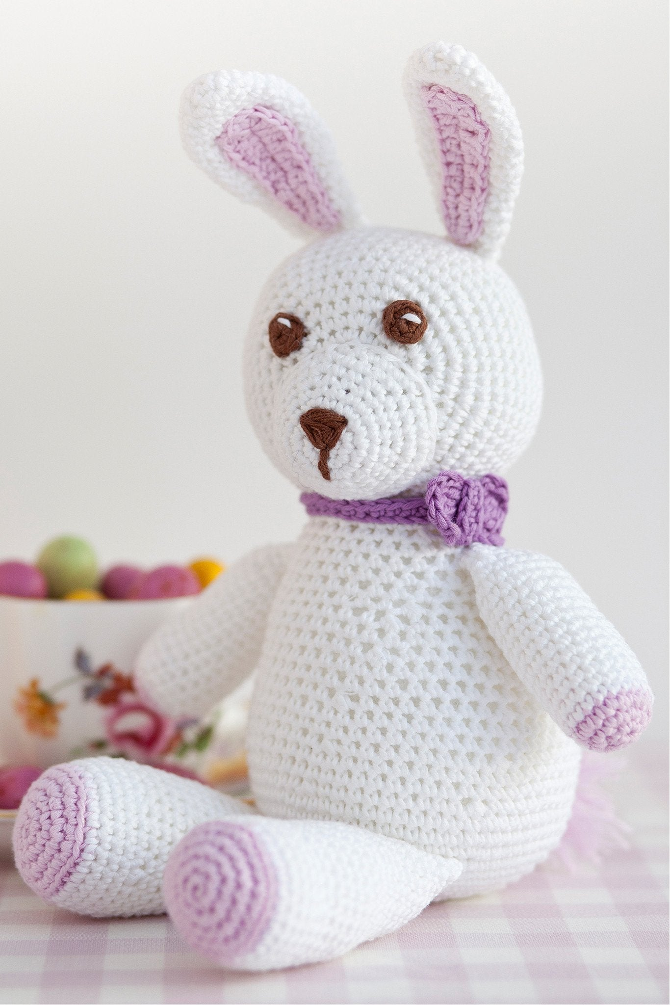Easter bunny rabbit crochet pattern the knitting network easter bunny rabbit crochet pattern ccuart Choice Image