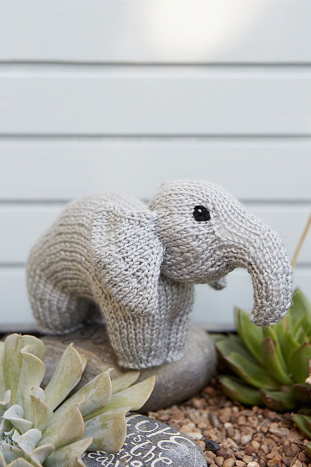 Elephant Toy Knitting Pattern – The Knitting Network