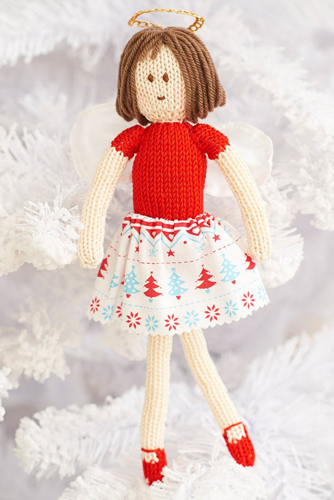 Fairy Christmas Tree Decoration Knitting Pattern   The Knitting Network