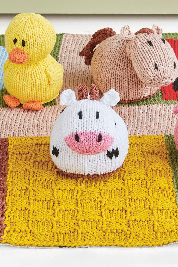 Farm Baby Play Mat Knitting Pattern - The Knitting Network