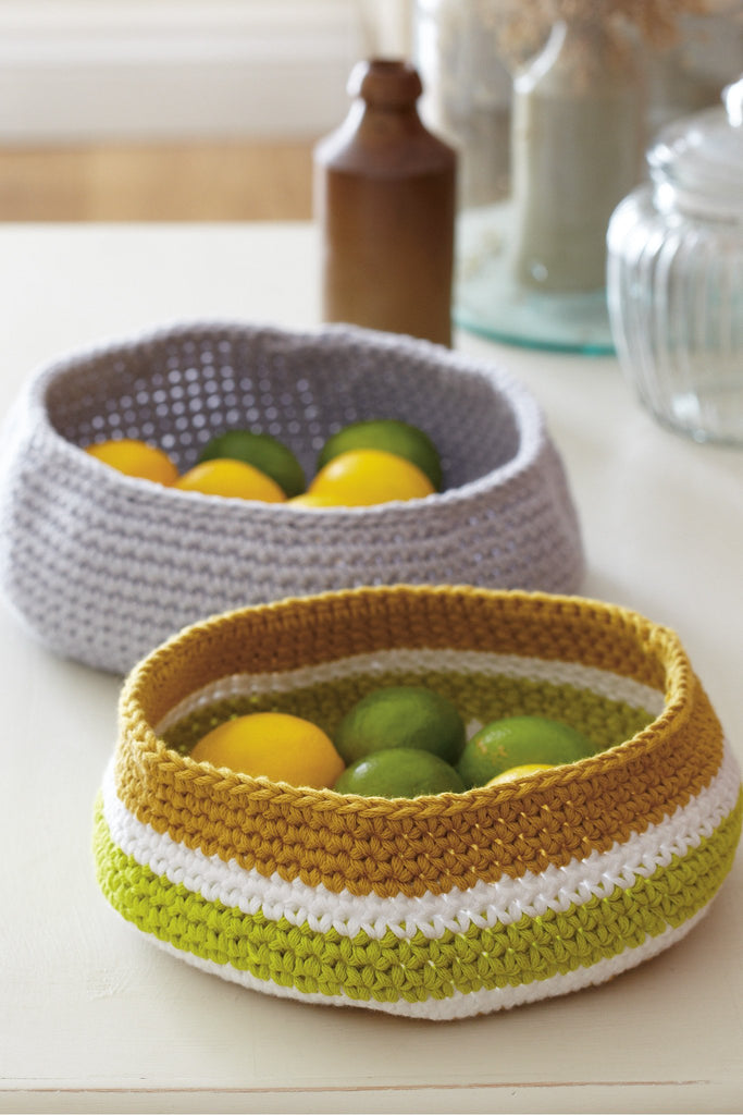 Fruit Bowl Crochet Pattern - The Knitting Network