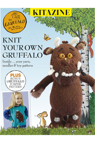 Knit your own Gruffalo toy and jumper