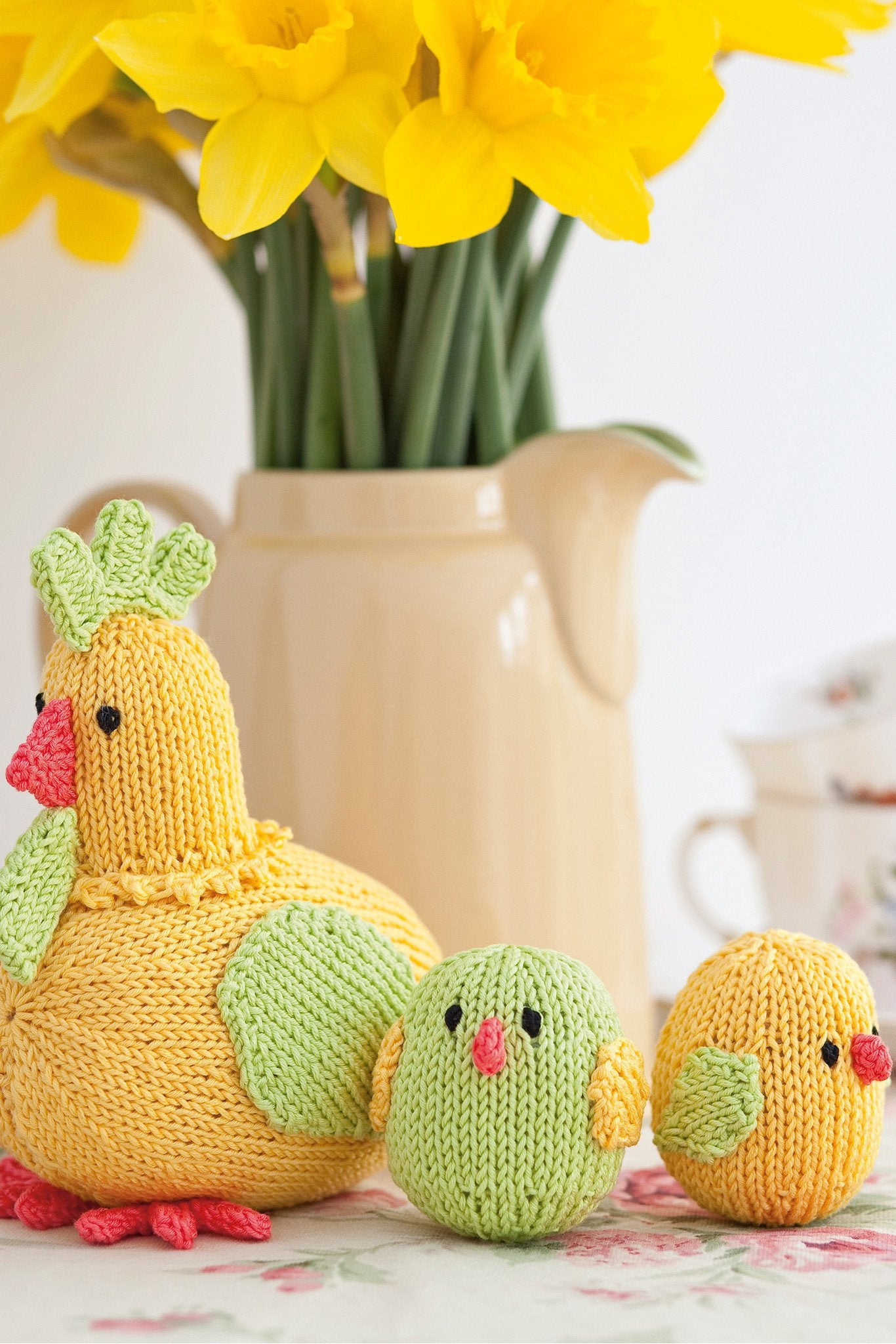 Hen And Chicks Knitting Pattern – The Knitting Network