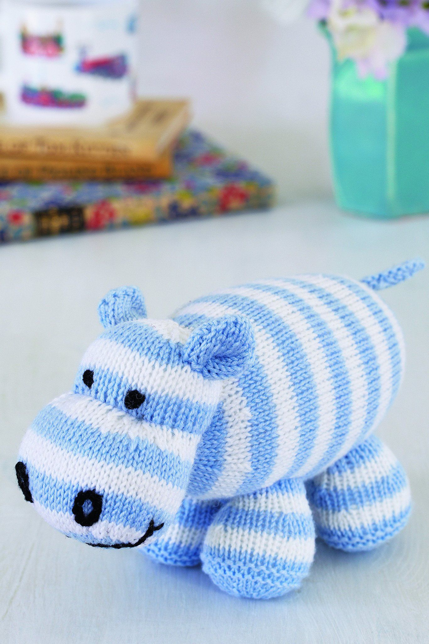 Hippo Toy Knitting Pattern – The Knitting Network