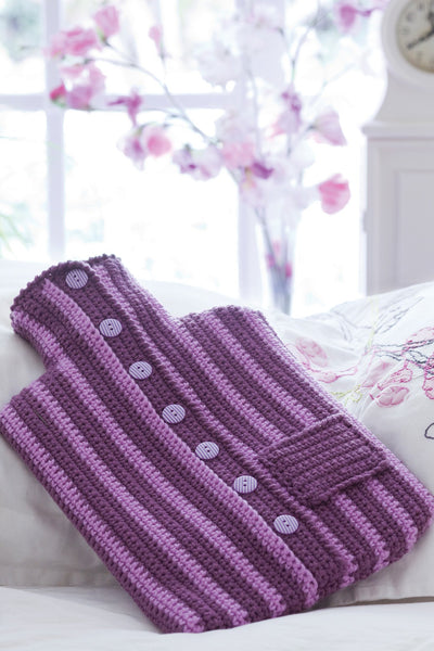Knitting Pattern For A Hot Water Bottle Cover : Hot Water Bottle Cover Crochet Pattern   The Knitting Network