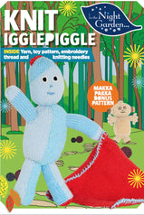 Igglepiggle knitting kit with yarn