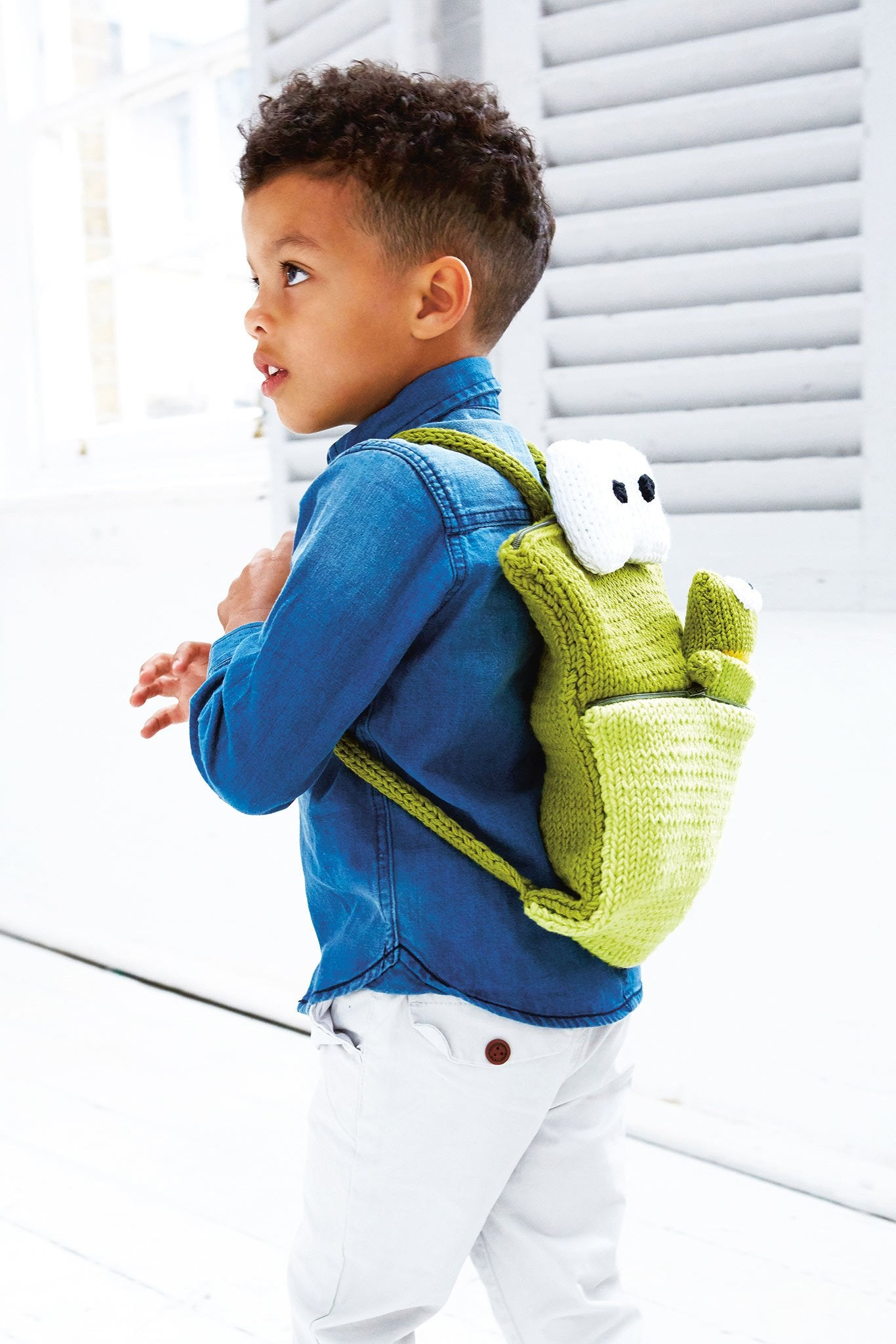 Kids Frog Toy And Bag Knitting Patterns – The Knitting Network