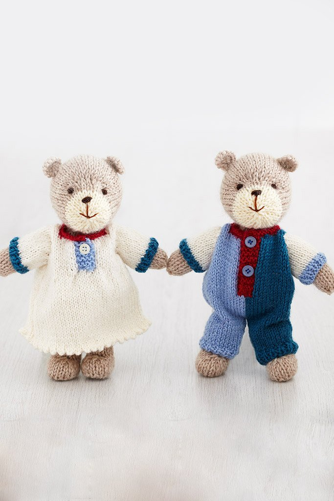 Bears Pajamas Knitting Pattern