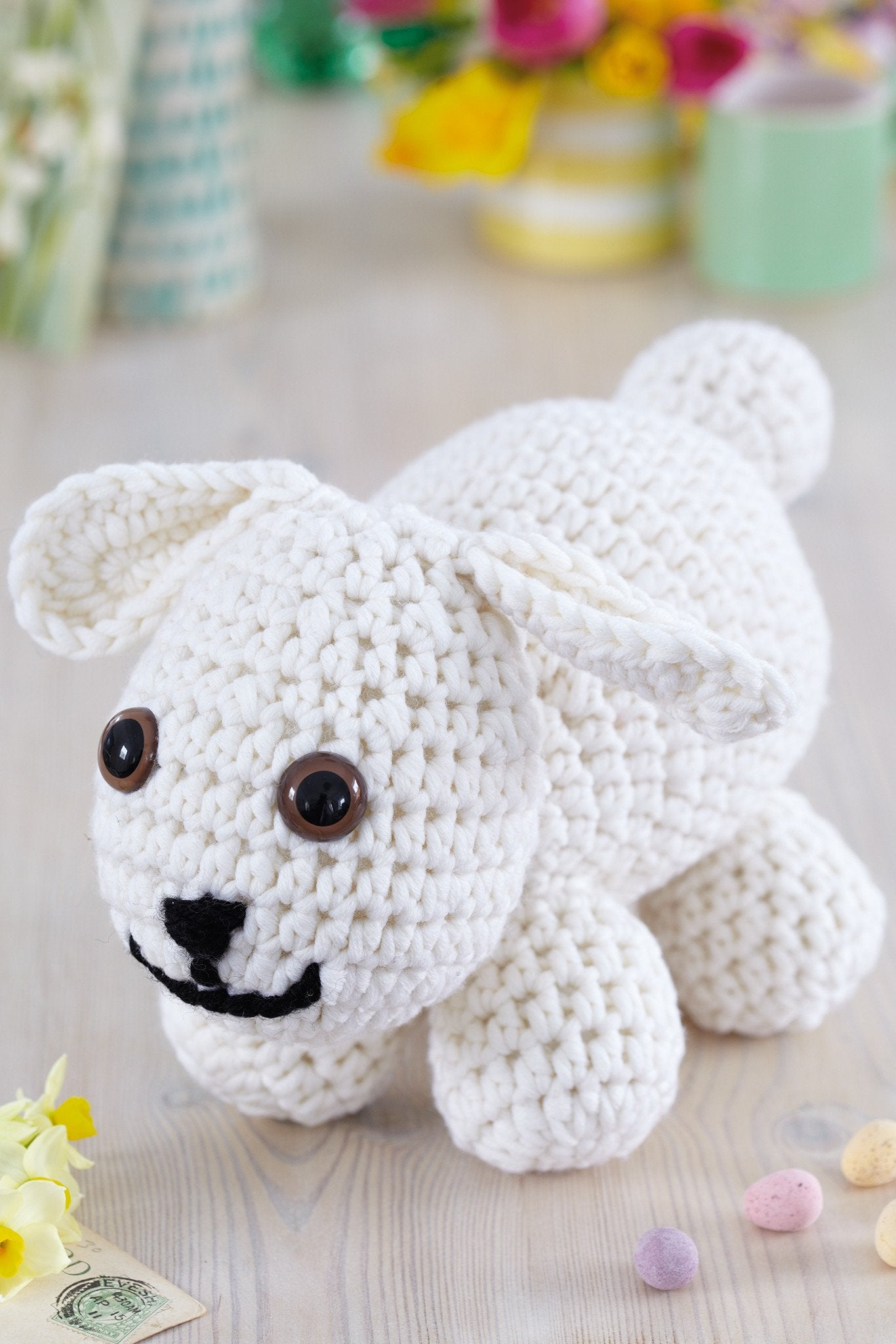 Little Lamb Toy Crochet Pattern The Knitting Network