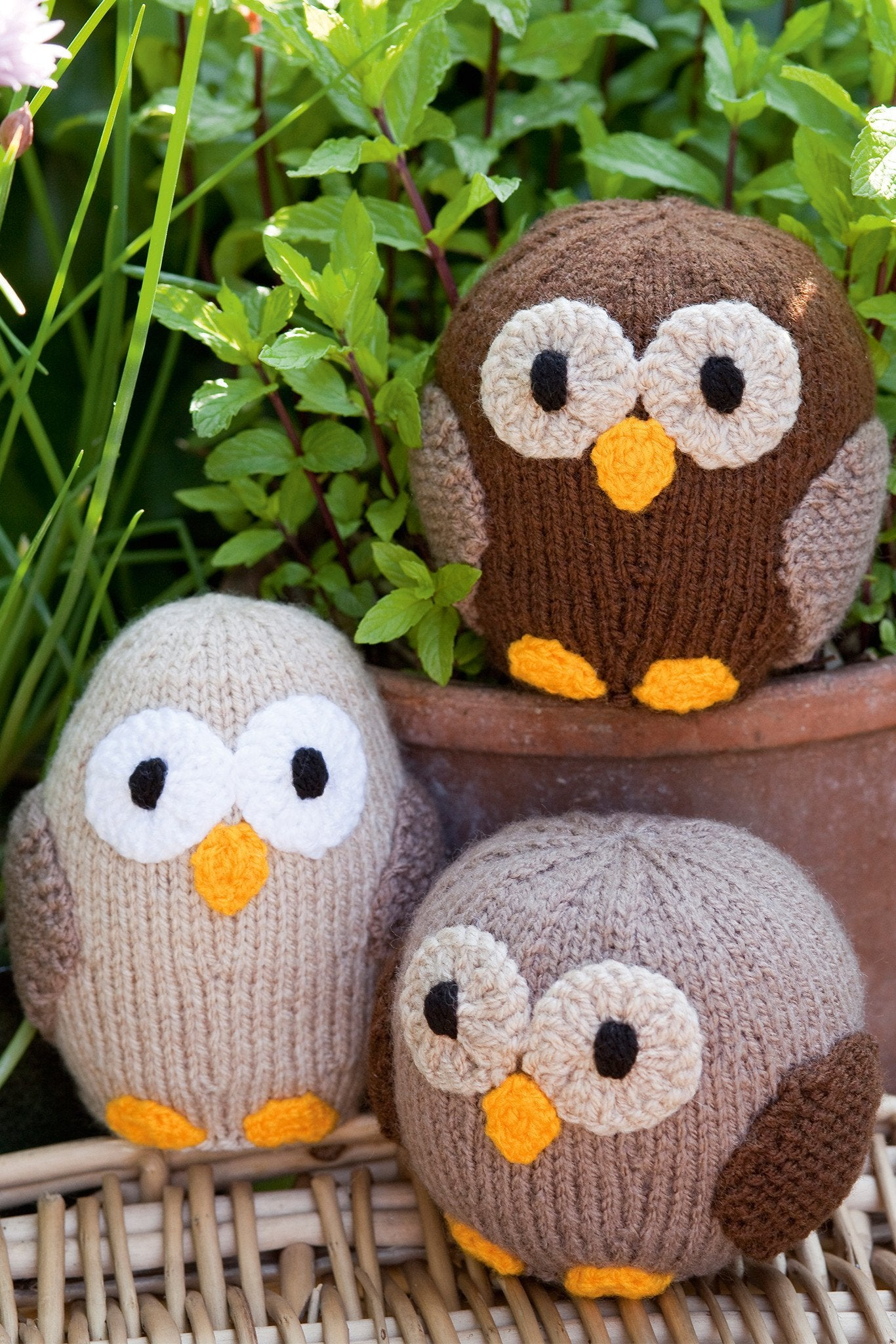 Owl make family set knitting patterns the knitting network owl make family set knitting patterns bankloansurffo Image collections