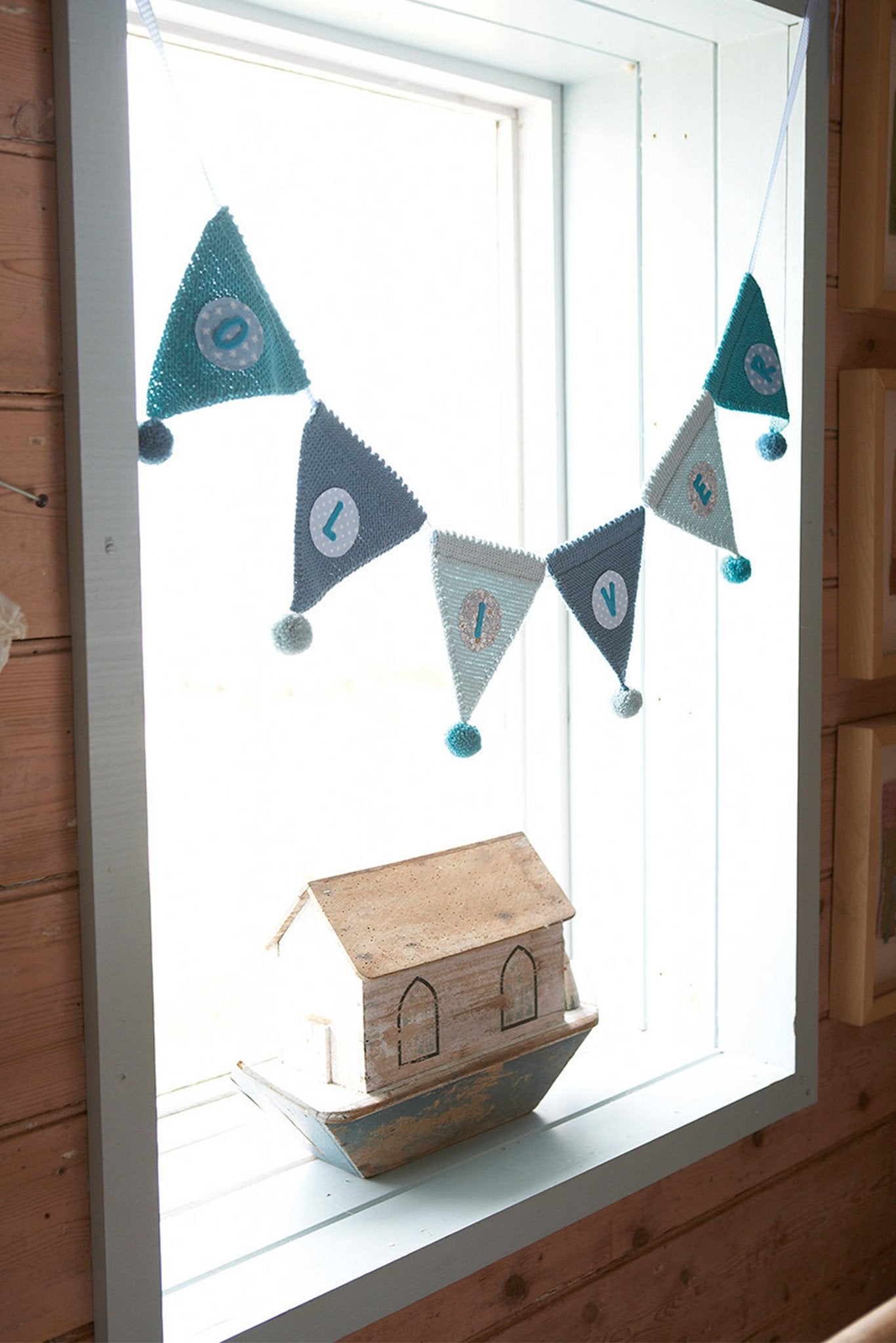 Personalised Bunting Knitting Pattern – The Knitting Network
