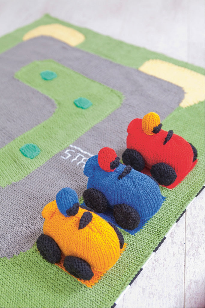 Knitting Pattern Tracker : Race Track And Racing Car Knitting Patterns   The Knitting Network